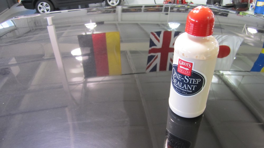 Griot's Garage One-Step Sealant does a fantastic job on heavily oxidized finishes.