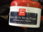 I used Griot's Heavy-Duty Metal Polish