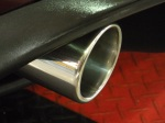Done! Stand back and admire your work! This is a great way to get detailed look to your exhaust tips.