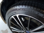 Tuf Shine applied to the tires for long lasting shine without the slinging.