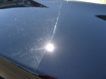 Deep Gloss and reflection! The transformation is dramatic as seen by this 50/50 shot.