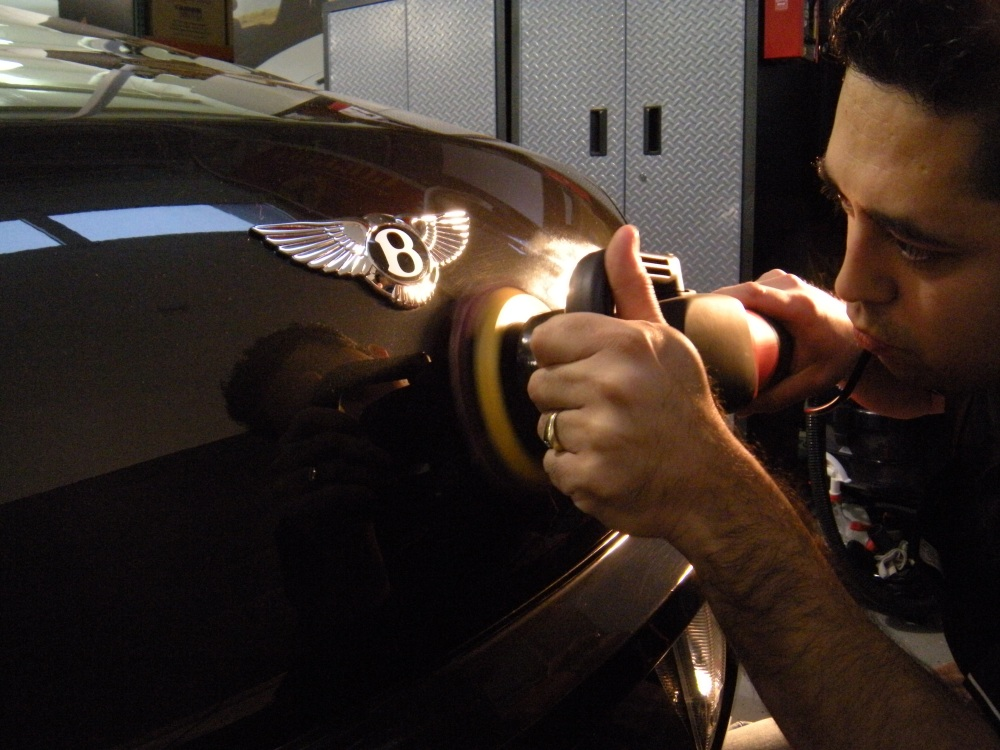 """Bentley Continental GT Being Corrected"""