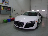 R8 before the wash process