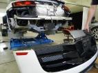 Removing the rear bumper