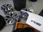 Wheels Before Powder Coating