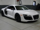 R8 With It's New Wheel Look